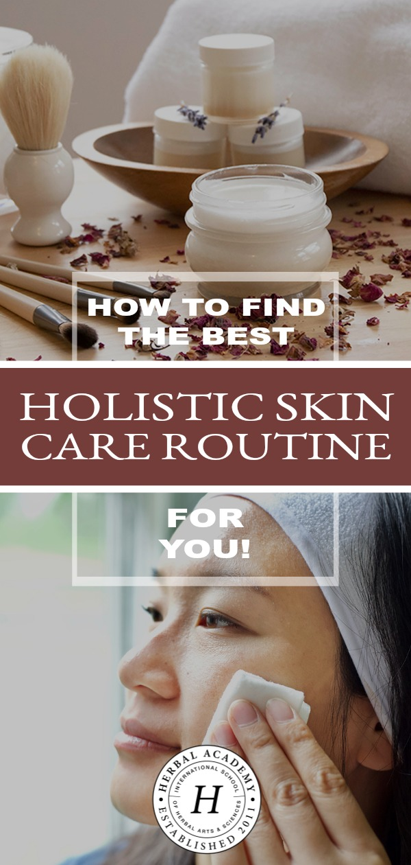 How To Find The Best Holistic Skin Care Routine For You | Herbal Academy | Vibrant health will manifest as a clear, glowing complexion. Here's how to find the best holistic skin care routine for yourself this year!