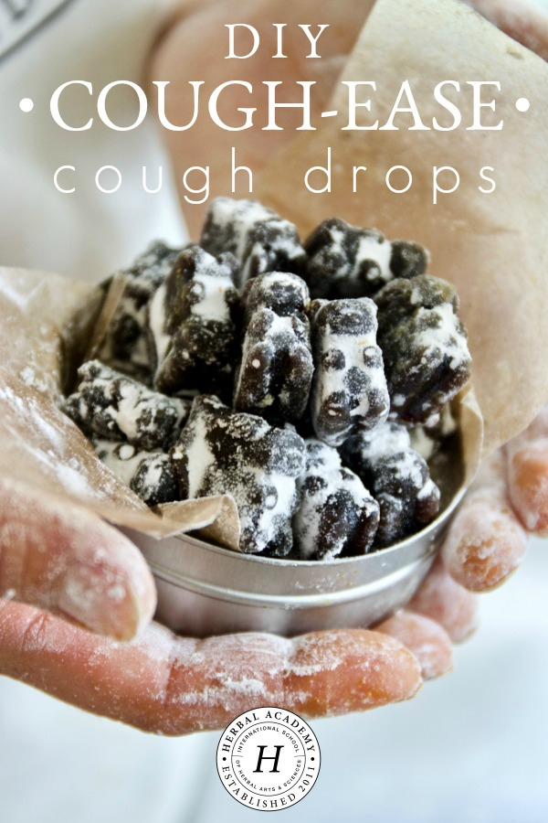 DIY Cough-Ease Cough Drops for Dry, Scratchy Throats | Herbal Academy | Be prepared for cold and flu season with these cough-ease cough drops. Our video and recipe will walk you through the steps to make them on your own!
