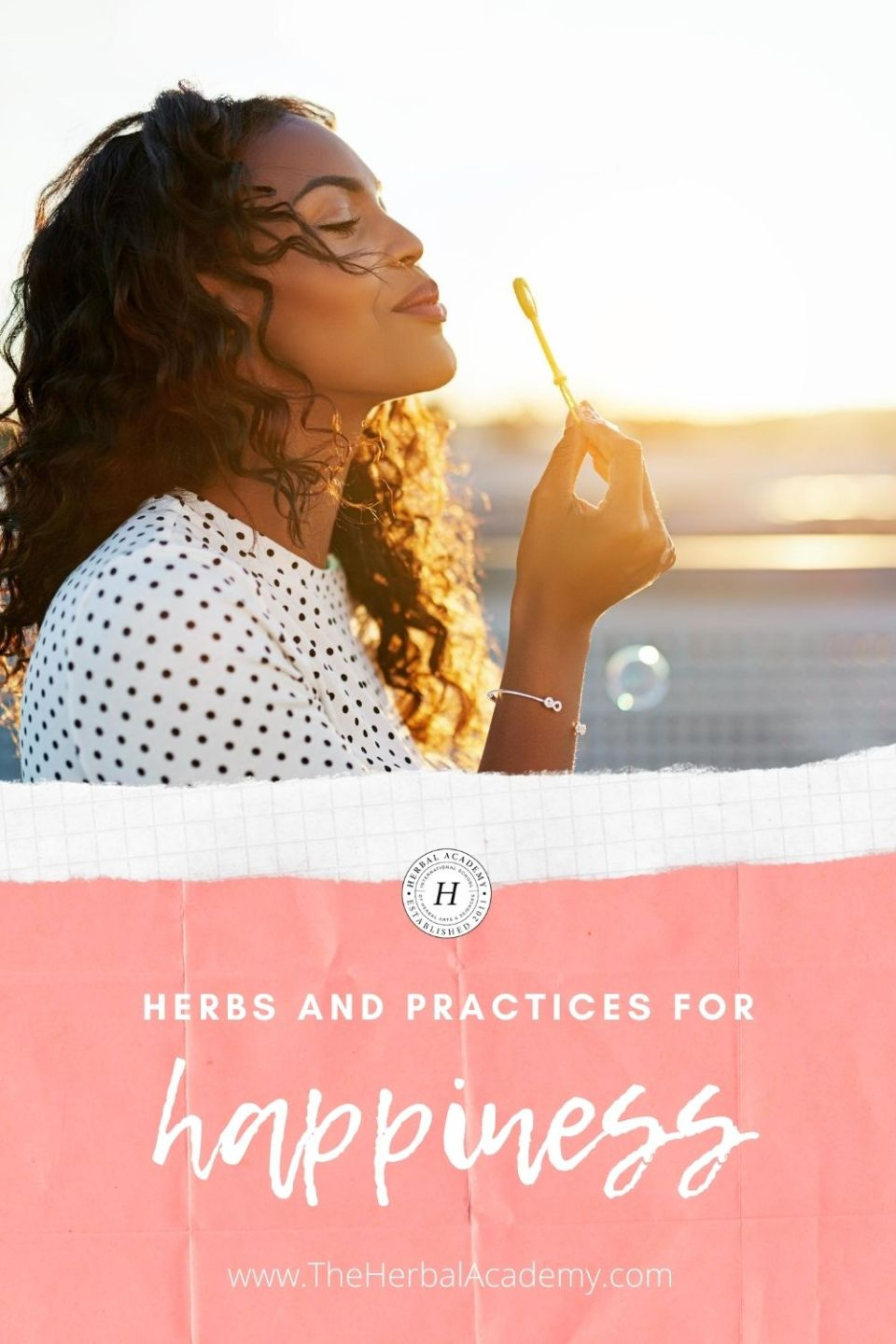 Practices and Herbs for Happiness | Herbal Academy | This article explores practices and herbs for happiness, elucidating practical ways in which you can take steps toward greater wellbeing.