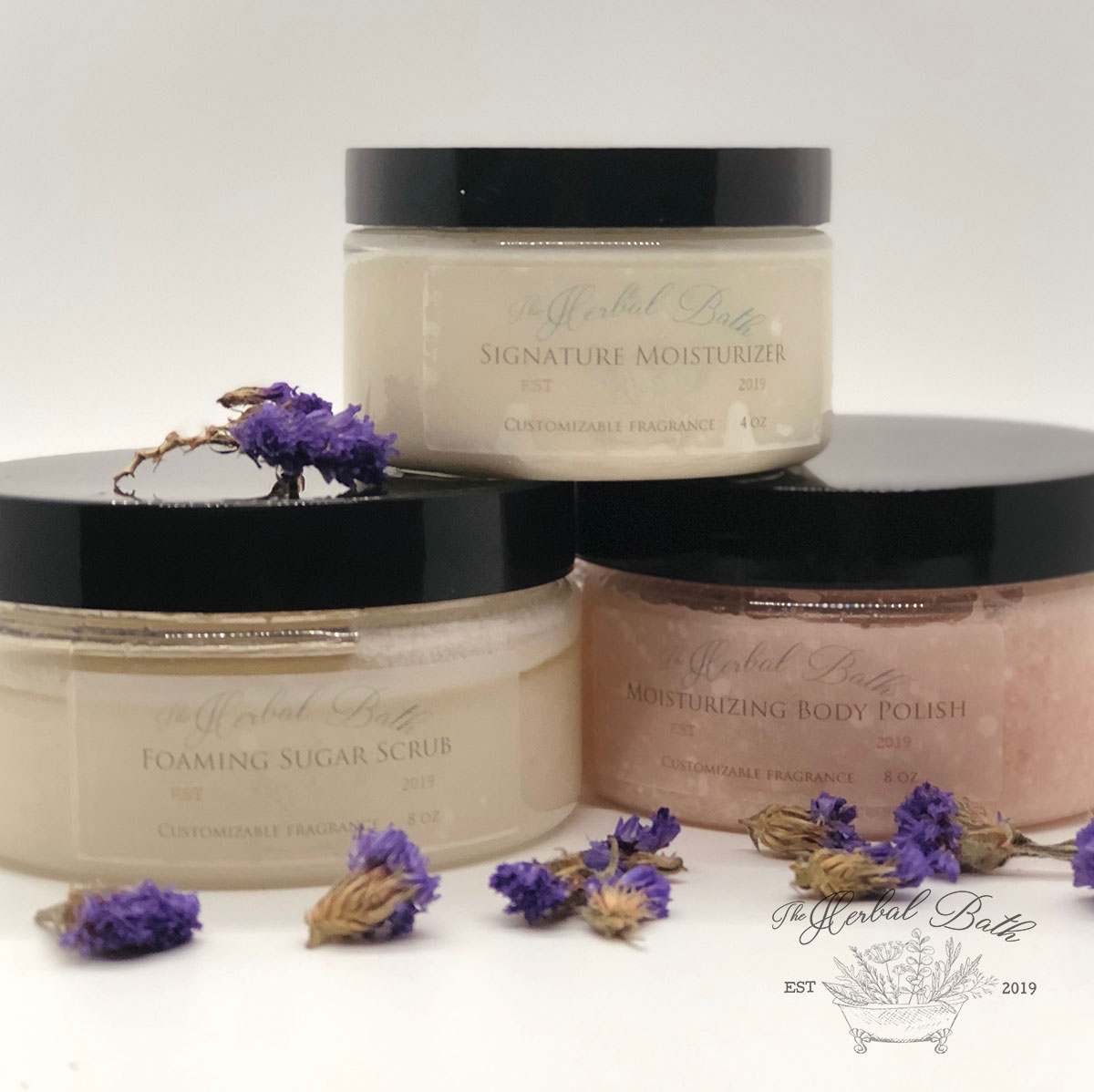 Face and Body Moisturizers and Scrubs