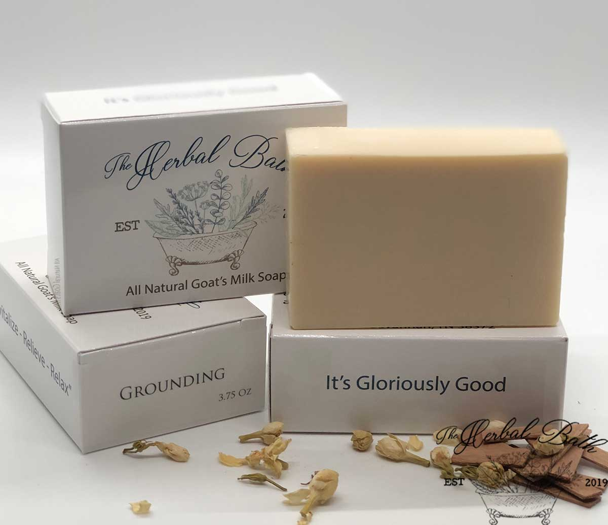 Grounding Signature Blend-Goat's milk soap