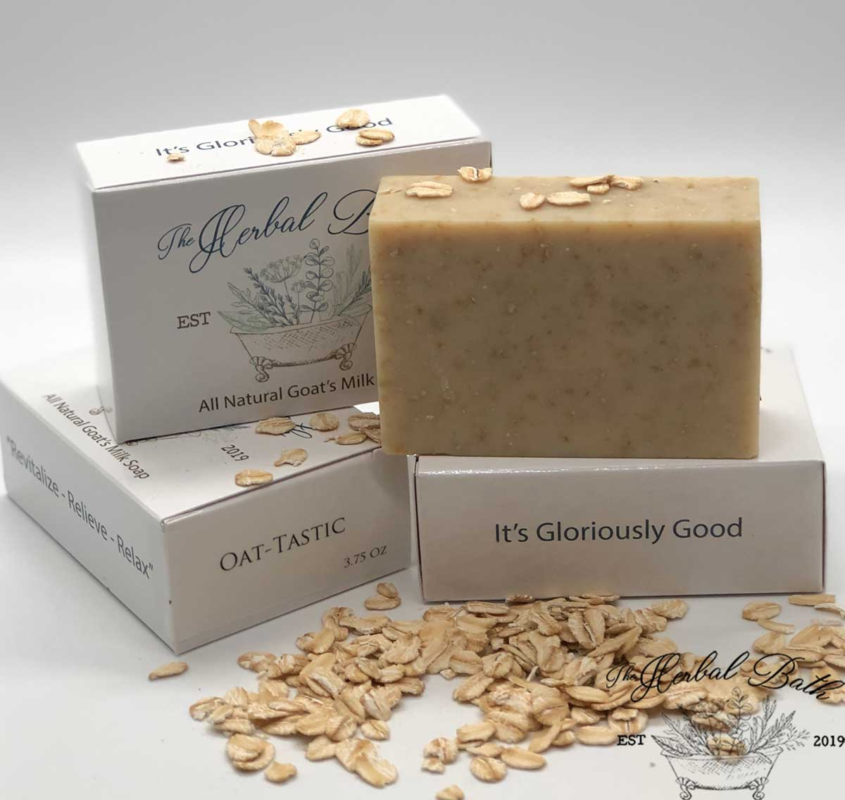 Nourishing Oatmeal Soap