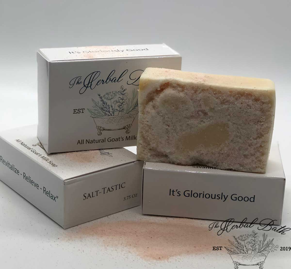 Himalayan Salt Scrub Soap