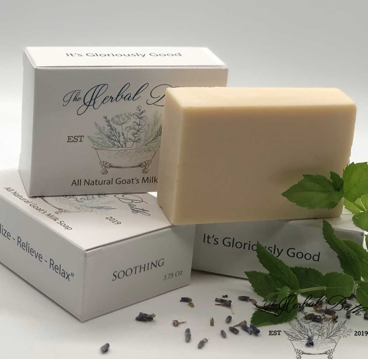Soothing Signature Blend-Goat's milk soap