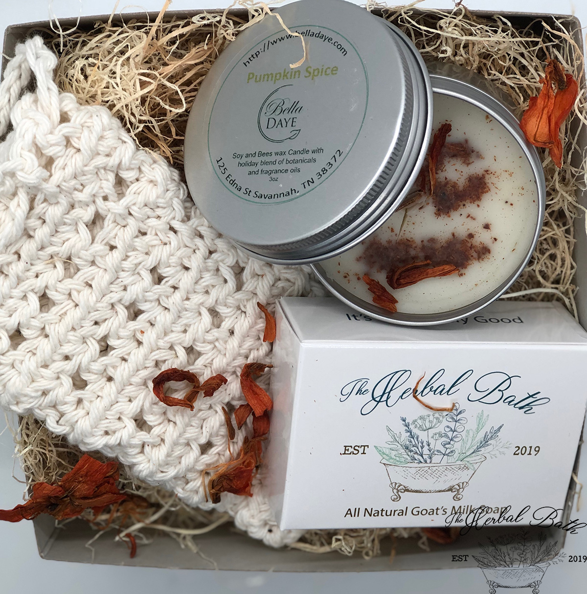 Pumpkin Spice Latte' gift set