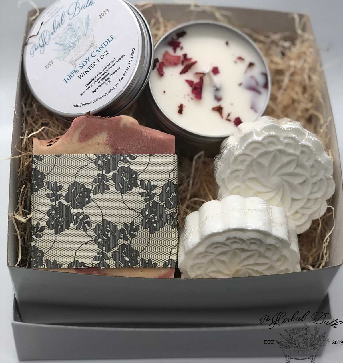 Winter Rose gift set