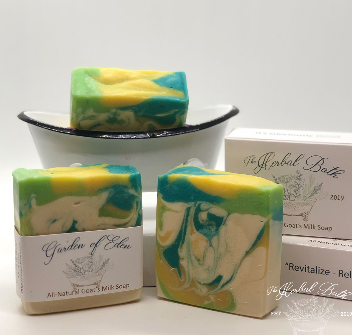 Garden of Eden Goat\'s milk soap