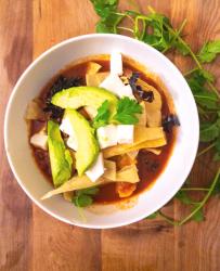 healthy tortilla soup gluten free