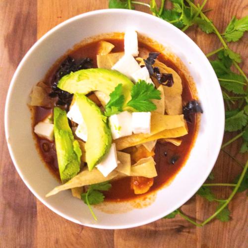 healthy tortilla soup gluten free