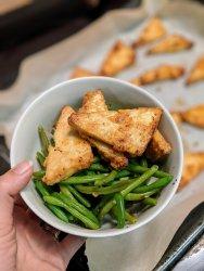 crispy tofu baked fried