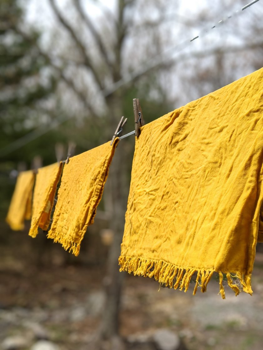 natural dye recipe onion skins pigment yellow dye for clothes old textiles
