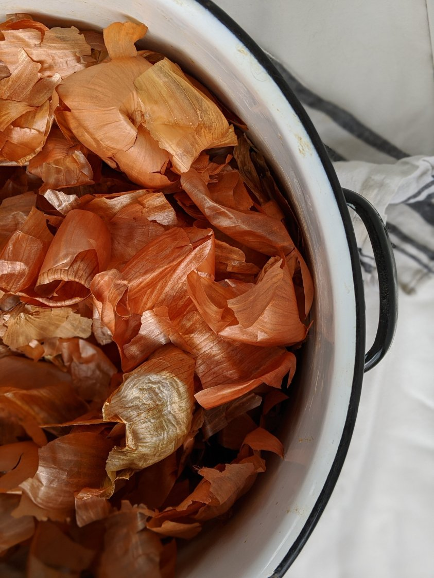 should i save onion skins for natural dyeing things to do with onion skins