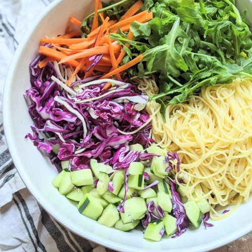 cold asian noodle salad healthy vegan gluten free