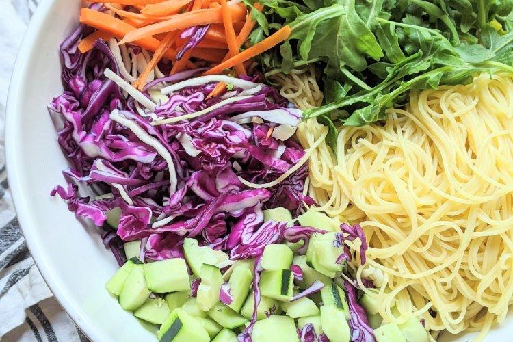 cold asian noodle salad healthy vegan gluten free