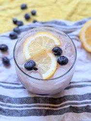 blutberry infused gin cocktail recipe healthy blueberry cocktails
