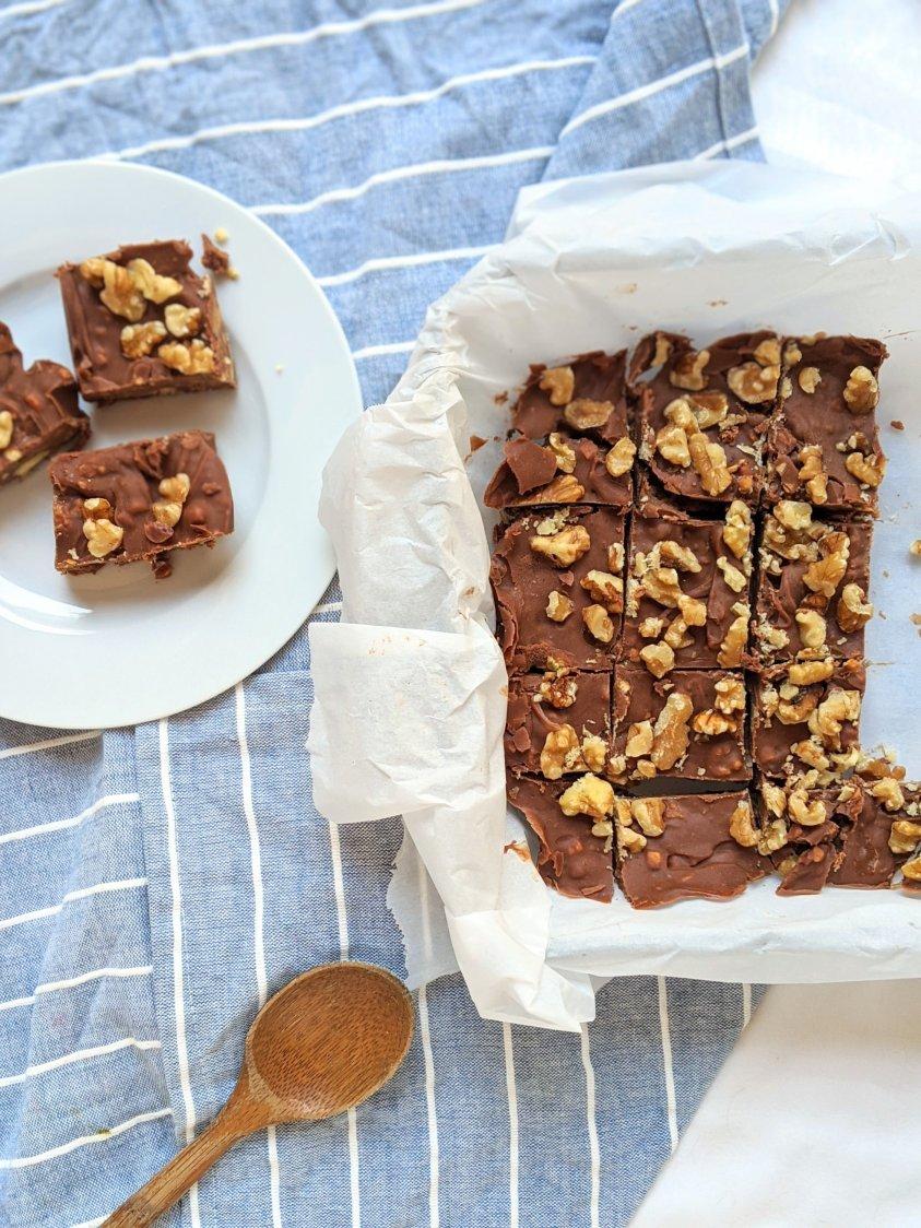vegan fudge recipe with nuts dairy free gluten free