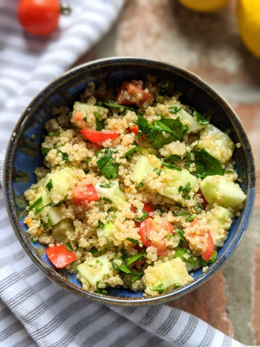 vegan summer salads with quinoa healthy plant based quinoa salad recipes vegan gluten free high protein vegan recipes for lunch or dinner