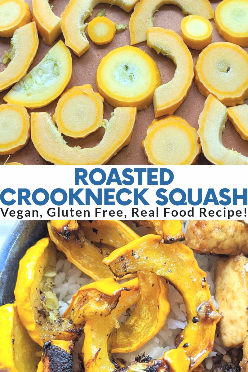 roasted crookneck squash recipe garden squash recipes yellow roast yellow squash in the oven sheet pan