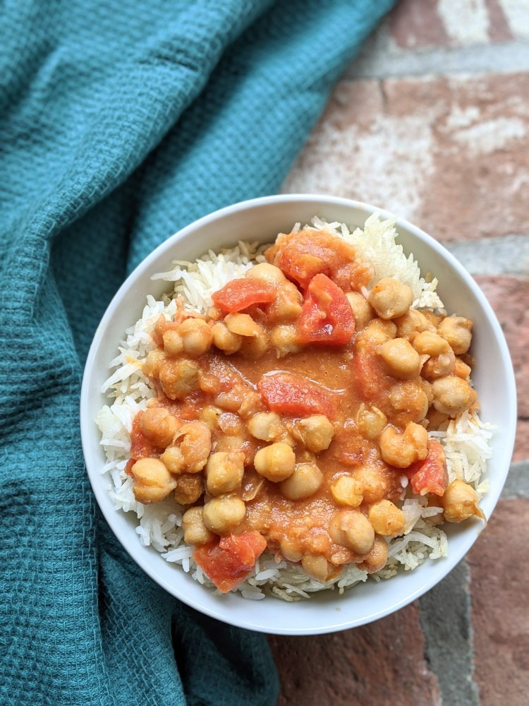 vegan recipes with canned chickpeas healthy garbanzo tikka masala indian vegan dinners easy healthy homemade coconut milk canned chickpeas