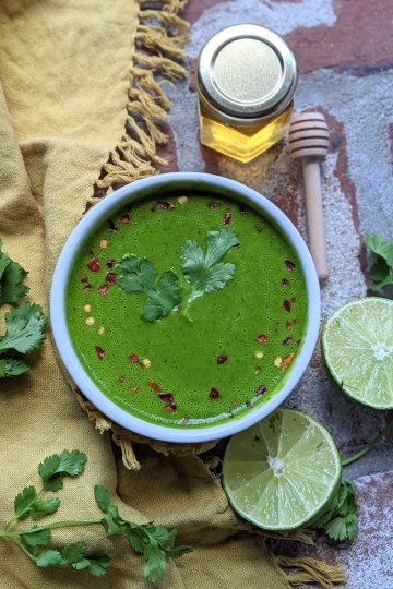 Cilantro Honey Lime Sauce Recipe Gluten Free Healthy Raw Honey