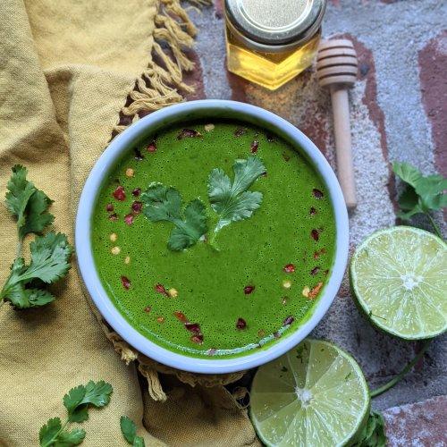 Cilantro Honey Lime Sauce Recipe Gluten Free Healthy Raw Honey