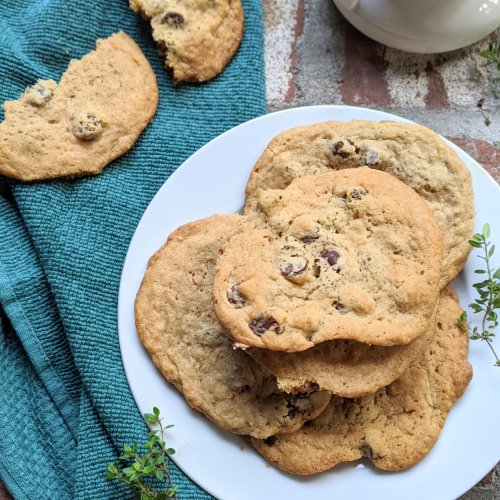 farmhouse chocolate chip cookies with secret ingredient apple cider vinegar