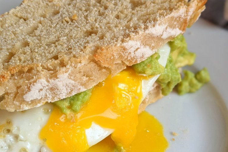 avocado toast breakfast sandwich recipe healthy vegan gluten free brunch