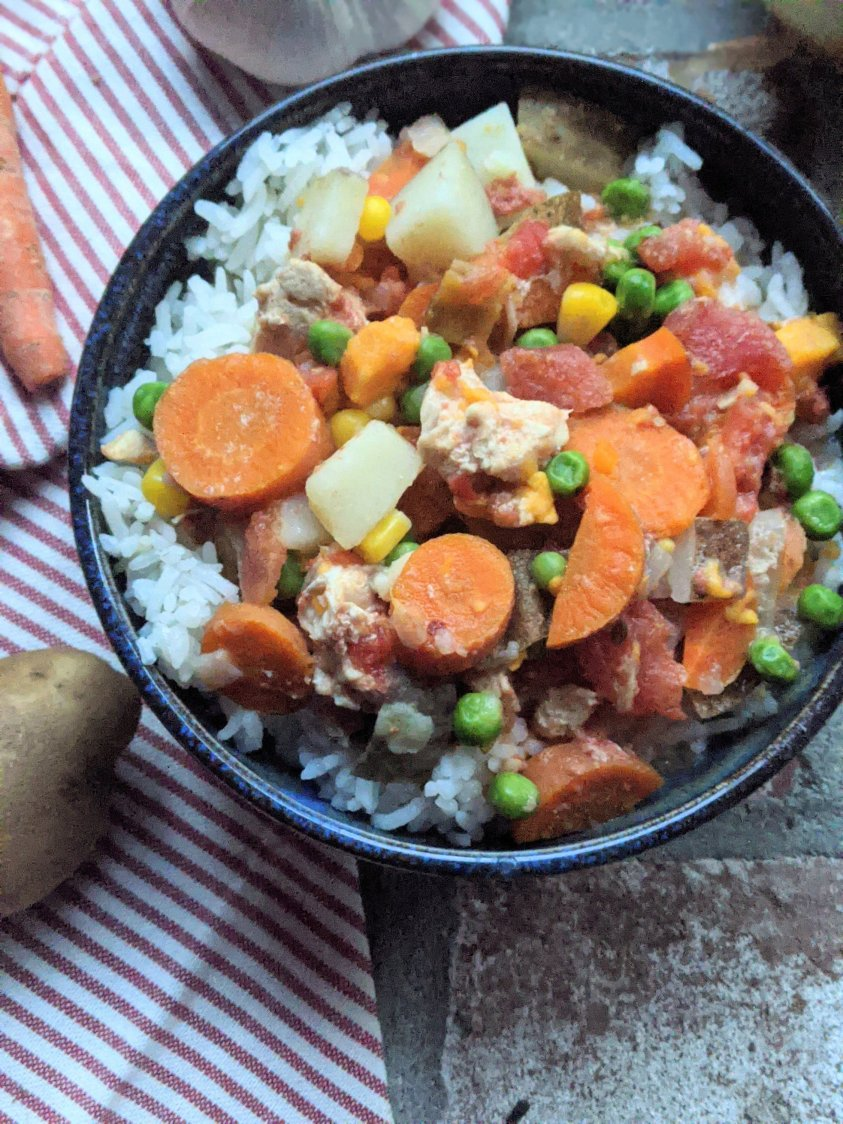 pressure cooker chicken and vegetable stew recipe creamy coconut milk stew recipes no dairy free healthy dinners for busy moms and families dump dinners
