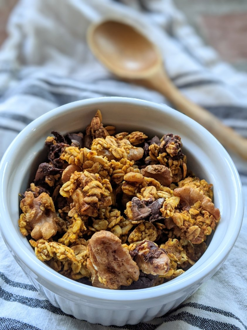 healthy and easy pumpkin recipes for breakfast granola recipe one pan sheet pan oven gluten free
