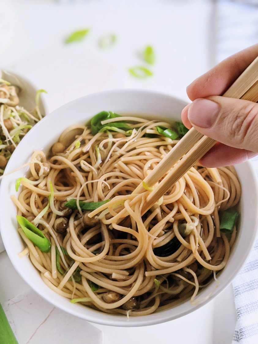 pho with chopsticks healthy vegan gluten free low calorie lunch recipes one pot soup recipes vegetarian meatless healthy soup