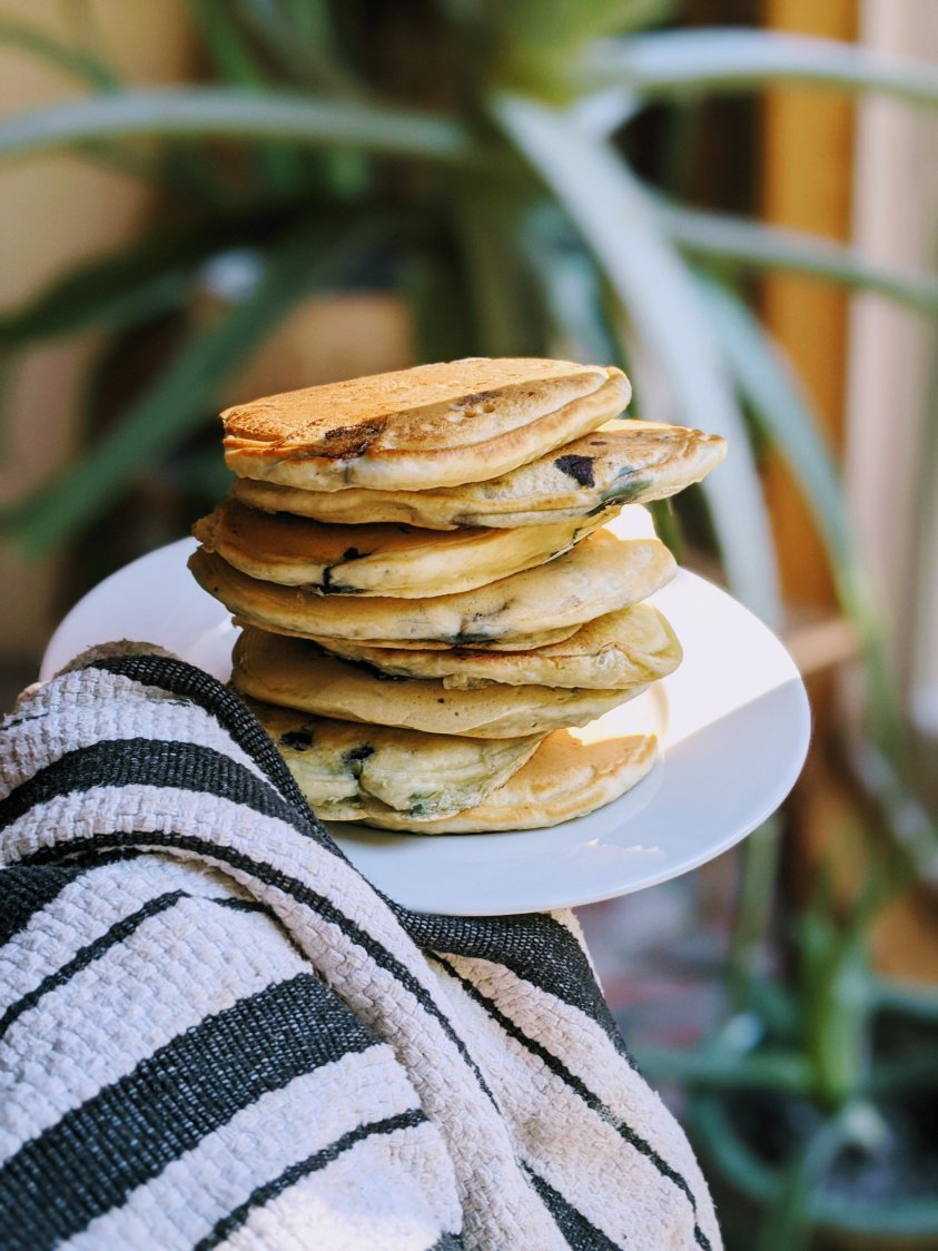 buttermilk blueberry pancake recipe healthy pancakes everyone will love low sodium breakfast recipes low sugar recipes for brunch