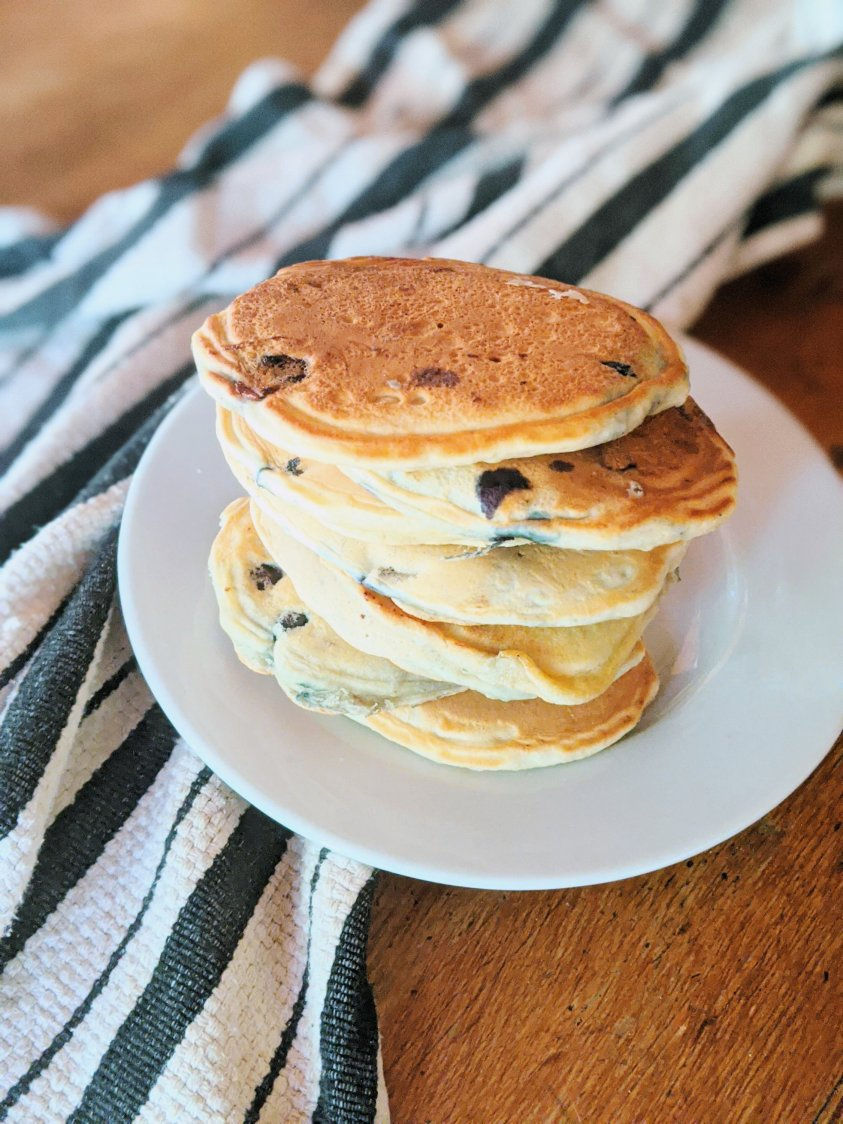blueberry panckes with buttermilk recipe fresh or powdered buttermilk simple recipes healthy homamde brnch recipes that will impress family friends kids