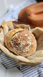 romertopf sourdough recipe clay pot roaster baker bread loafnest schlemmertopf clay pot recipes breakfast or dinner side dishes