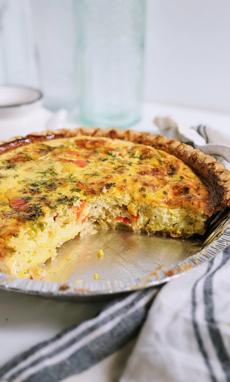 how to cook frozen quiche from the freezer? can you freeze eggs? can you eat frozen eggs? can you freeze uncooked quiche? this is the perfect breakfast and brunch recipe to make ahead for a crowd!