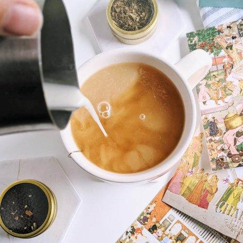 chai oat milk chai tea latte recipe healthy vegan gluten free latte with oat milk nut milk plant based steamed mylk or warmed milks