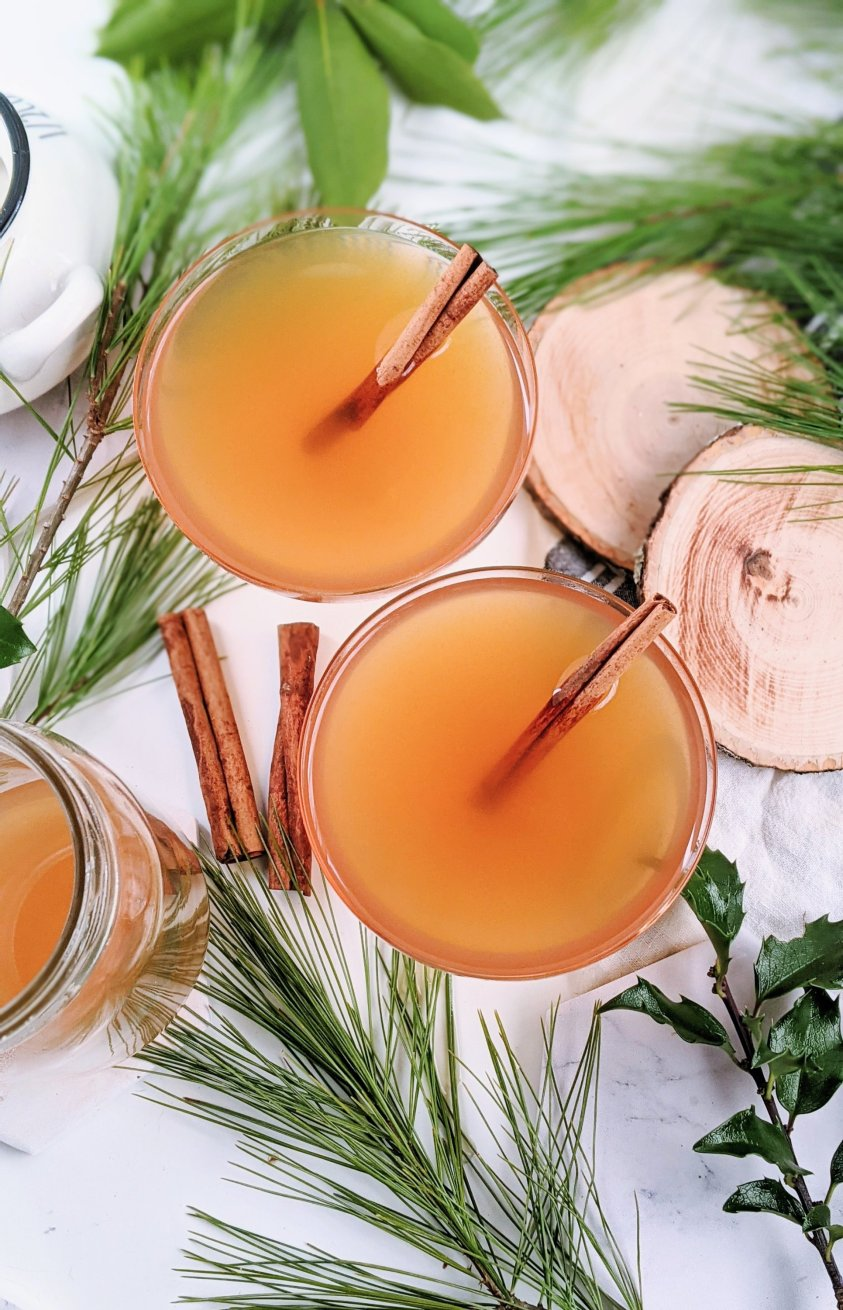 fancy cocktails for christmas guests holiday parties for enteraining friends and family everyone will love nightcap drinks cocktail with apple juice cider spice