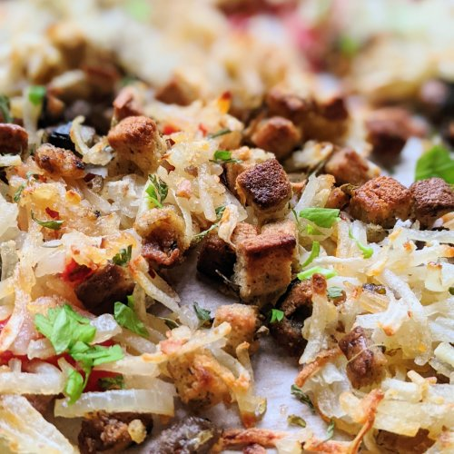 leftover stuffing recipes heahbrowns stuffing for breakfast brunch easy bread recipes with leftover thanksgiving or christmas holiday stuffing