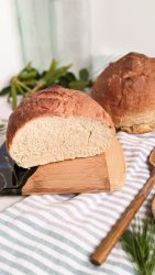 quick yeast bread recipe healthy bread 5 ingredients 1 hour to rise easy dinner loaves for sandwiches or garlic bread healthy simple breads recipe