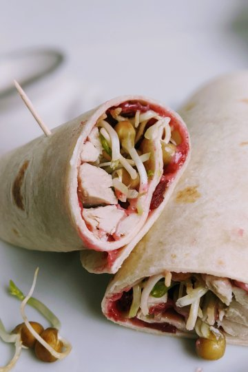 turkey wrap with cranberry sauce mayo recipe healthy thanksgiving leftover turkey recipes to make with extra turkey and cranberry sauce reuse recipes no food waste