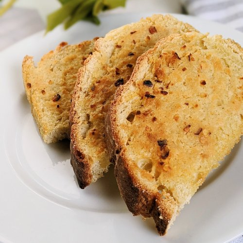 vegan garlic bread in the air fryer convection oven healthy vegan gluten free vegetarian meatless side dish bread to eat with pasta spaghetti and meatballs italian air fryer recipes healthy less oil