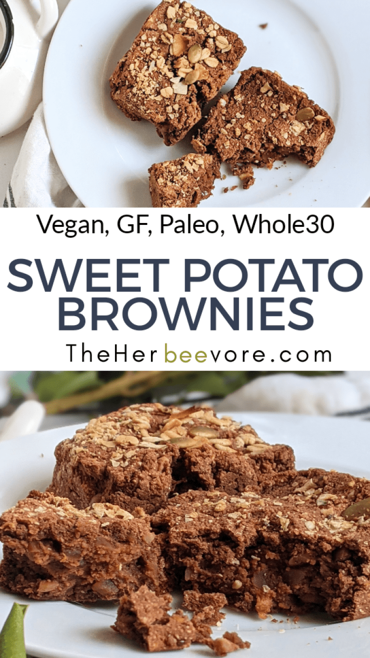 whole30 sweet potato brownies vegan paleo gluten free coconut flour recipes with coconut flour deserts with vegetables healthy