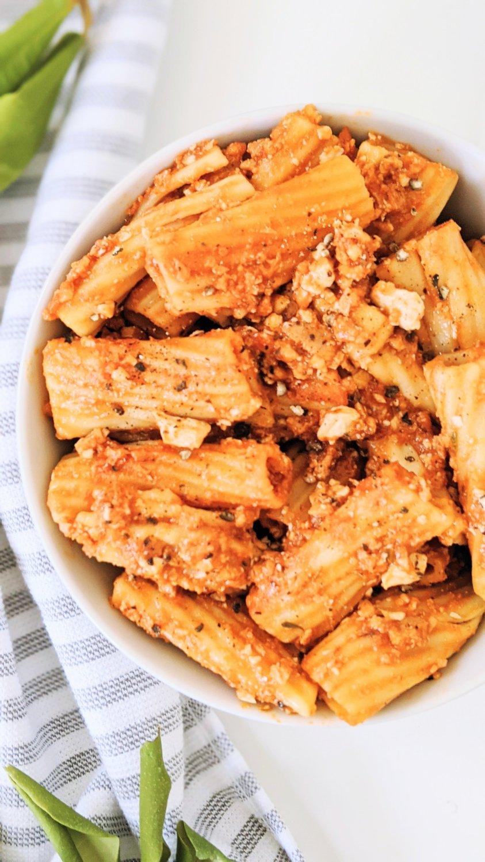 vegan bolognese recipe tofu pasta sauce recipe healthy protein pasta vegetarian recipes pantry pasta recipes vegan meatless plant based hearty pasta sauces silken tofu pasta sauce recipe