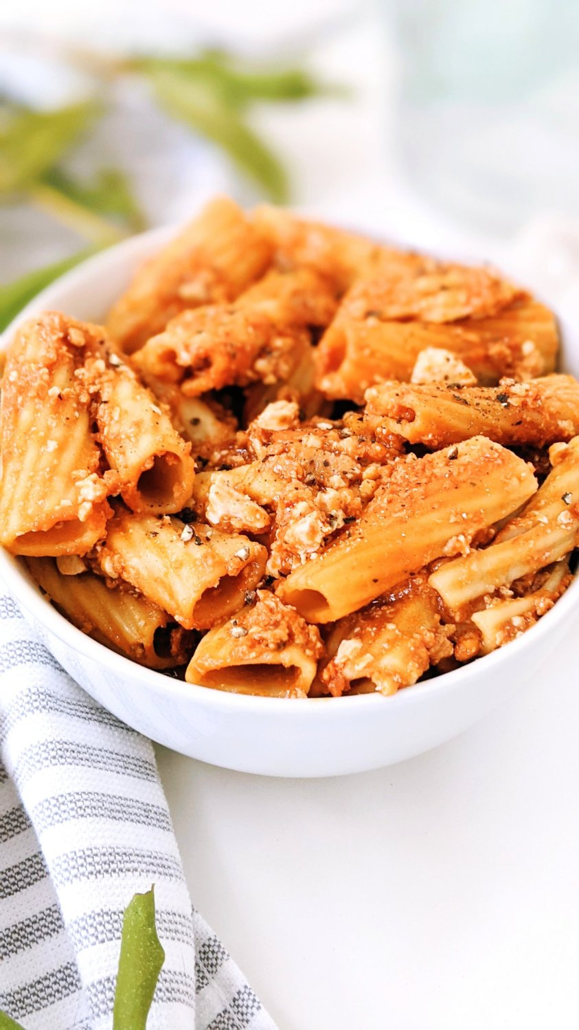 pasta with tofu bolognese sauce recipe healthy vegan spag bol tofu meat sauce for noodles pasta rigatoni bolognese with tofu healthy italian meals meatless