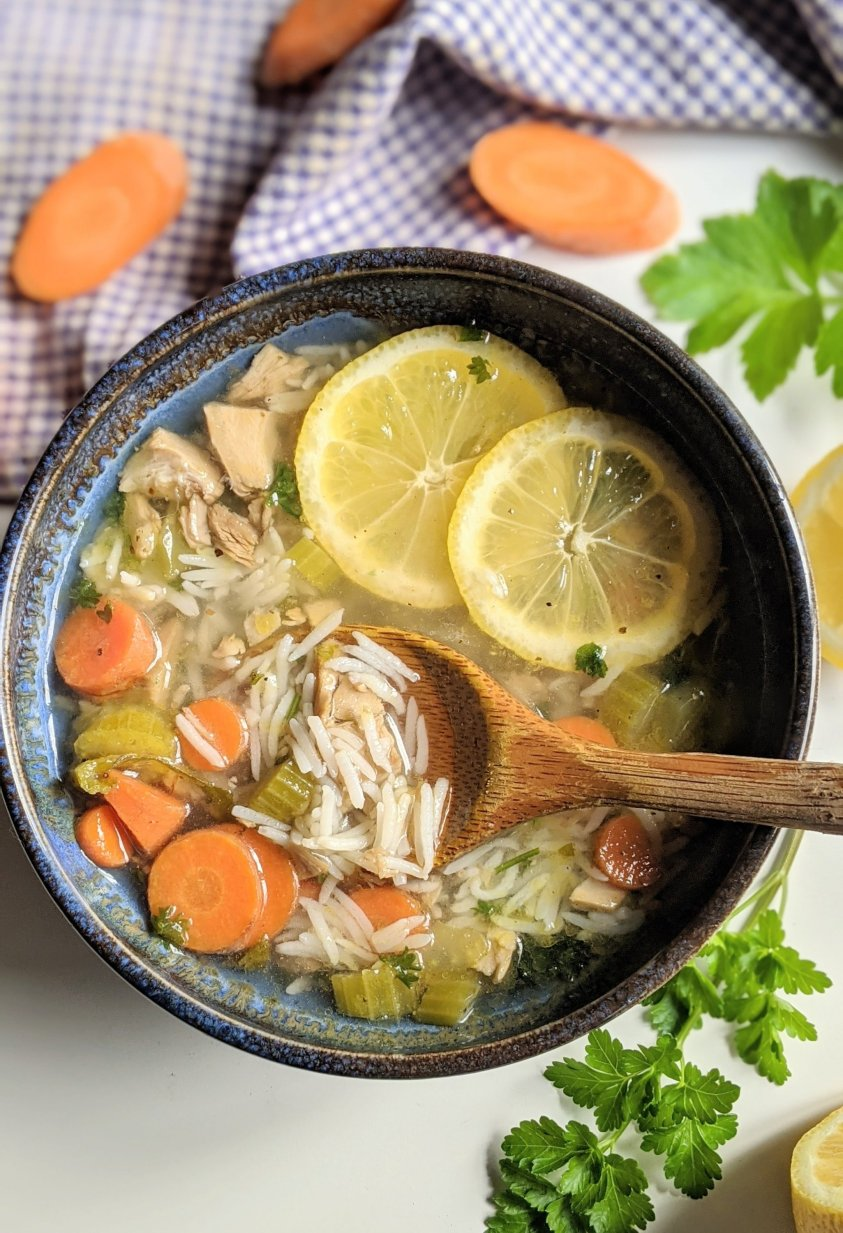 dairy free leftover turkey soup recipe with rice lemon turkey soup recipes one pot gluten free soups no waste recipes leftover turkey soups healthy high protein gluten free