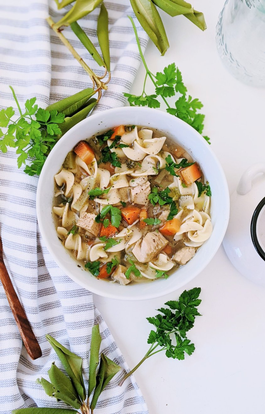 dairy free turkey noodle soup recipe with leftover turkey soup healthy gluten free egg noodle soup are egg noodles gluten free