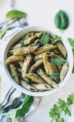 green goddess pesto recipe pasta with green goddess dressing healthy herb pesto with parsley basil sage garlic pesto healthy no cook pesto recipes