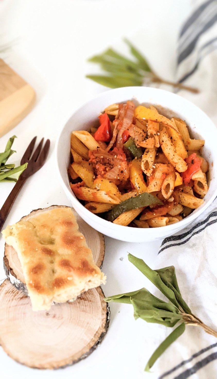 rasta pasta recipe vegan gluten free vegetarian homemade with focaccia bread rastafarian noodle recipes meatless