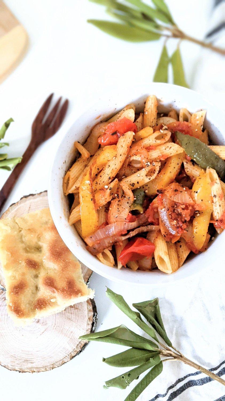vegan rasta pasta recipe gluten free vegetarian rastafarian pasta recipe bell peppers onions garlic