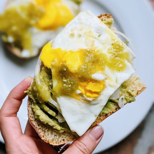 tomatillo breakfast sandwich with salsa verde recipe healthy high protein brunch sandwiches gluten free vegetarian spanish brunch recipes