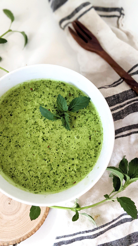 vitamix pesto with lemon balm blender pesto no cook lemon balm recipes healthy vegan gluten free